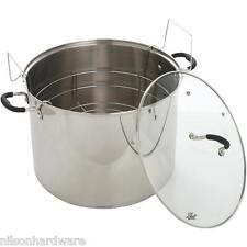 Stainless Steel Boiling Water Waterbath Canner 21 Qt