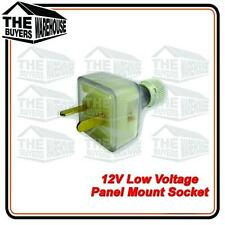 12 volt Power Extention T Plug Caravan Boat Marine 4WD Low voltage 2 pin,