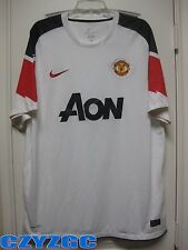 BNWT Manchester United 2010-2011 Short-Sleeves Away Shirt XL