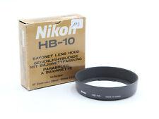 Original Nikon HB-10 Pare Soleil Lens Hood pour AF 28-80 F/3.5-5.6 D MINT