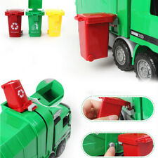 New Mini Kids Garbage Classification Trash Can Truck Cans Curbside Vehicle Toy