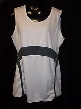 RUSSELL White ATHLETIC Tank Top Women's Size LARGE