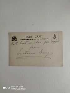 Queen Mary - Signed postcard when Princess of Wales - Victoria May 1903