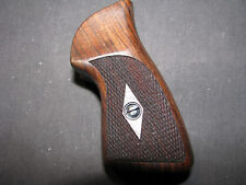 Ruger SP101 Series Fine Black Walnut Checkered Pistol Grips Beautiful NEW!