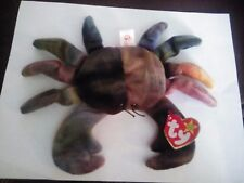 TY beanie baby Claude the crab born 1996 MINT Condition. Brand New