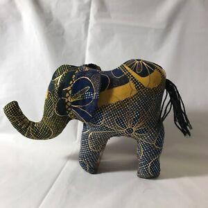 Decorative Hand Sewn Cloth Elephant