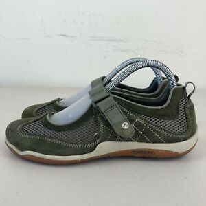 Merrell Iguana Womens Casual Shoes US 7 Green VGC + Free Postage