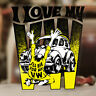 I love my VW Volkswagen Ed Roth sticker decal beetle splitscreen aircooled 4""