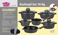 Kochtopf-Set Alu-Guss Gourmet 10 Teile Topf Set GSW - Gusstopf
