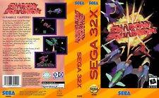 Shadow Squadron Sega 32x Replacement Box Art Case Insert Cover Scan