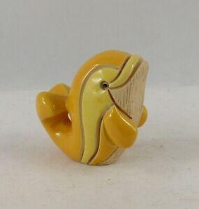 Vintage Rinconada Classic #321A Baby Yellow Dolphin