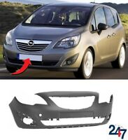 NEW OPEL VAUXHALL MERIVA B 2010 - 2014 FRONT BUMPER WITHOUT PDC HOLES