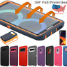 Hard Case Shockproof Hybrid Tough Armor Full Cover Samsung Galaxy S10+ Note 8 9