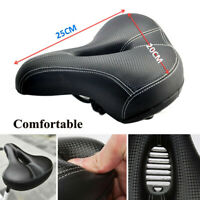 Wide Bum Bike Bicycle Cushion Extra Comfort Sport Soft Pad Seat Cover Universal