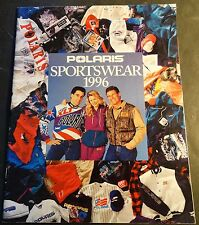 1996 POLARIS SNOWMOBILE SPORTSWEAR SALES BROCHURE 28 PAGES (164)