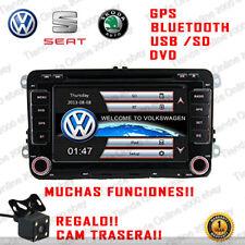 "7"" RADIO NAVEGADOR GPS DVD BLUETOOTH PARA SEAT ALTEA LEON ALTEA XL TOLEDO"