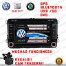 "7"" RADIO NAVEGADOR GPS DVD BLUETOOTH PARA VW TRANSPORTER EOS POLO NEW BEETLE...."