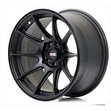 "17"" XXR 527 MATT BLACK WHEELS & TYRES 5 x 100/114.3 +35 FITS BRZ 86 XR6 XR8"