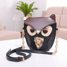 Women Girl Owl Print Shoulder Bag Cross Body Purse Satchel Messenger Handbag CN