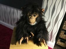 Furreal Cuddle Chimp Plush Interative Toy Noise & Movements
