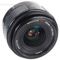 Minolta 28mm f2.8 for Sony Alpha a33 a55 a77 a100 a230 a280 a380 a550 a850 a900