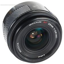 Minolta 28mm f2.8 for Sony Alpha a33 a55 a77 a100 a230 a280 a380 a550 a850 a900