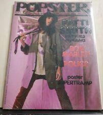 RIVISTA SSIGILLATA - POPSTER - FEBBRAIO 1980 PATTI SMITH B.MARLEY  SUPERTRAMP