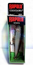"Vintage (Finland) Silver Rapala (CD-9 S) Sinking 3-1/2"" Countdown Fishing Lure"