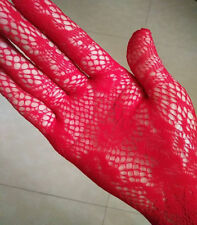 Lady Sexy Long Gloves Mittens Prom Wedding Movie Star Flapper Opera Lace Hollow