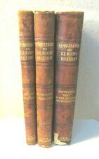 1899 Textbooks Engineers On Refrigeration & Ice Making Machines Illustrations