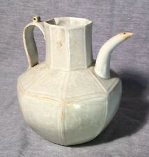 A Chinese Tea Pot Octagonal Ewer Song Dynasty Qingbai