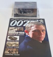 James Bond 007 Diecast Car Collection  Quantum Of Solace Alfa Romeo 159 Magazine