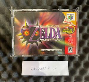 The Legend Of Zelda Majora's Mask Collectors Edition N64 CIB 2000 no VGA N64