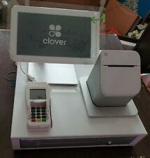 Clover P100 point of sale system with cash drawer