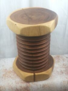 Nuts and Bolt stool side table lamp table