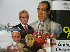 Catholic Pope Movie Anthony Quinn Vintage Poster Shoes of the Fisherman 1968