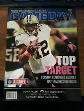 2013 New Orleans Saints v ATLANTA FALCONS PROGRAM MARQUES COLSTON