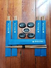 New Twisted Bamboo Chopsticks and  Alessi Chopstick rests all for Delta 5 sets