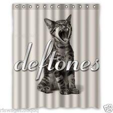 New Deftones Custom Fabric Shower Curtain 60x72 Inch