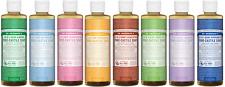 Dr Bronners Pure Castile Soap Liquid 237ml - 11 varieties
