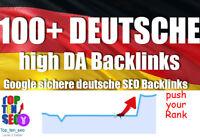 100 + DEUTSCHE Backlinks manueller Linkaufbau High DA dofollow SEO
