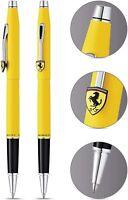 Cross Scuderia Ferrari Century Rollerball Pen - Matte Modena Yellow Lacquer - CT