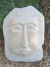 Tiki face plastic mold garden casting tropical mould