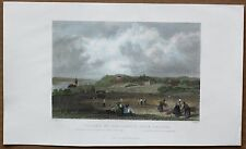 HOLLAND: Bartlett print VILLAGE OF OOSTERBEEK NEAR ARNHEM (#20), 1837.