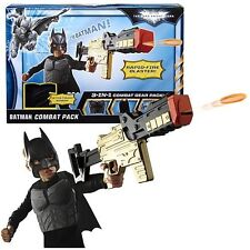 BATMAN THE DARK KNIGHT RISES BATMAN COMBAT PACK 3 IN 1 GEAR COSTUME  *NEW*