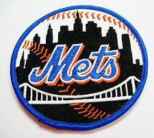 """(1) LOT OF BASEBALL NEW YORK METS PATCH  PATCHES (3 1/2"""" ROUND) ITEM # 62"""