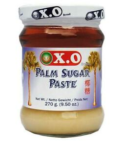 Thai pure palm sugar paste White 270g by XO ** UK Seller - Quick Delivery **