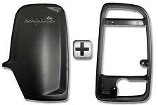 SPRINTER PORTA RETROVISORI Involucro Cover Posteriore Nero + frame interno DRIVER Destro O/S
