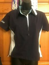 Williams at&t  Ladies Navy Polo Shirt Formula One Racing Team Size S