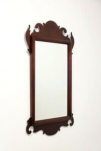 Chippendale Style Mahogany Wall Mirror